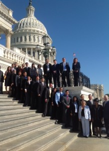 FIU President and DOE Fellow Students Meet with Florida Delegates in Washington, DC