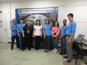 Ms. Yvette Collazo's Visit to ORNL