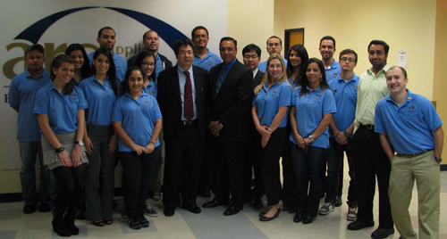 The DOE Fellows program at Florida International University hosted Dr. Soon-Heung Chang