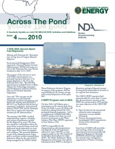 "DOE Fellows Program highlighted in ""Across The Pond"" Quarterly newsletter"