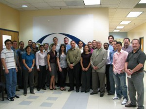 DOE-EM's Energy Facility Contractors Group (EFCOG) Visits FIU