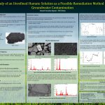 Study of an Unrefined Humate Solution as a Possible Remediation for Groundwater Contamination at SRS - Hansell Gonzalez Raymat