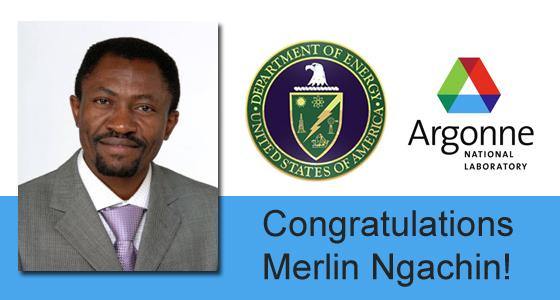 Congratulations Merlin Ngachin!