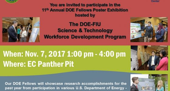 DOE Fellows Poster Exhibition 2017