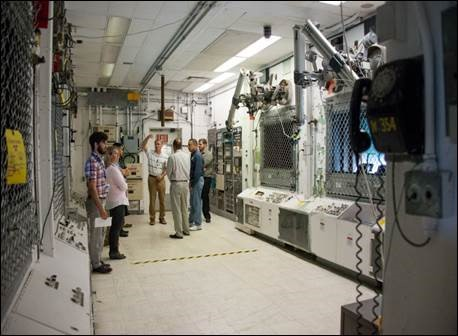 Touring the SRS 235-F Plutonium Fuel Form (PuFF) Facility Operator Station Base