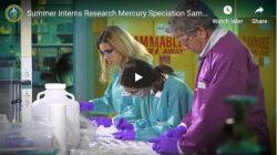 DOE Fellow Summer Interns Research Mercury Speciation Sampling Tech at SRNL