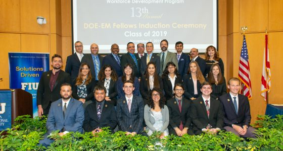Florida International University's Applied Research Center Hosts the 13th Annual DOE Fellows' Induction Ceremony