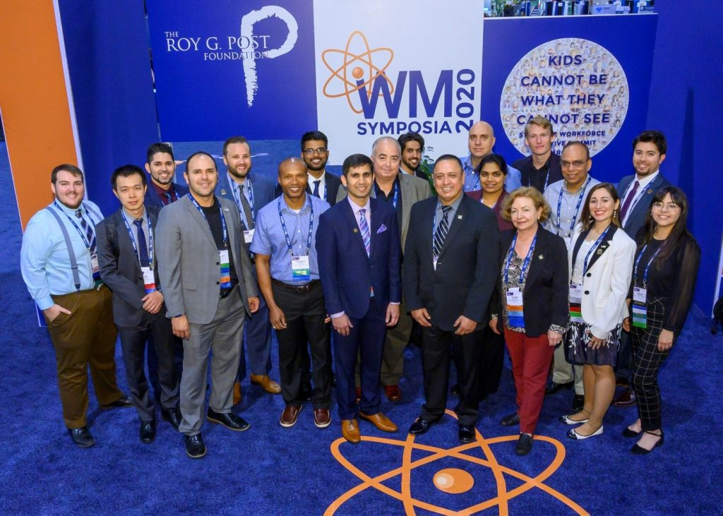 DOE Fellows and ARC staff at WM2020.