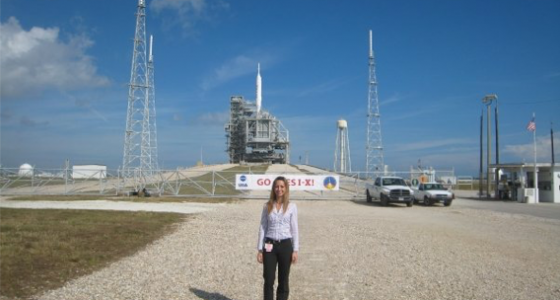 Former DOE Fellow Denisse Aranda credits her FIU journey for her success in space exploration in recent FIU News article