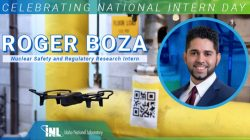 DOE Fellow Roger Boza helping drones fly autonomously using artificial intelligence during his 2021 summer internship